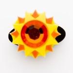 Brilliant Crystal Sun Charm